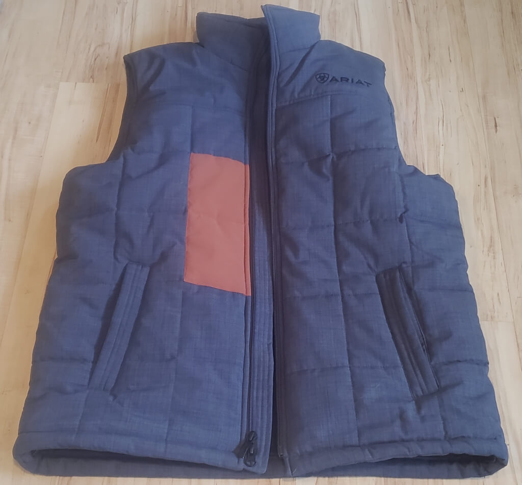 Ariat Outdoor Apparel Review - Patagonia Worn Wear Fix on Crius Vest PC Tucker Ballister