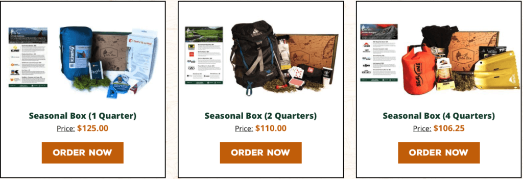 Best Monthly Subscription Boxes For Men - Isle Box Pricing