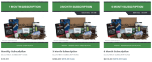 Best Monthly Subscription Boxes For Men - Scoutbox Pricing
