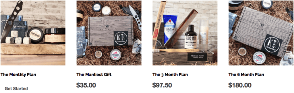 Best Monthly Subscription Boxes For Men - The Kinderbox Pricing