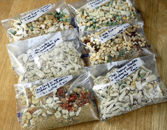 How To Spice Up Camping Food - boil in bag meals