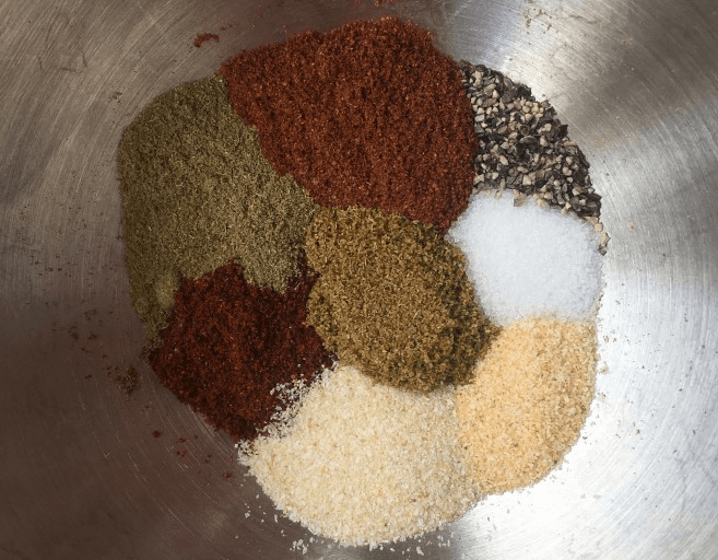 How To Spice Up Camping Food - diy homemade spice mixture