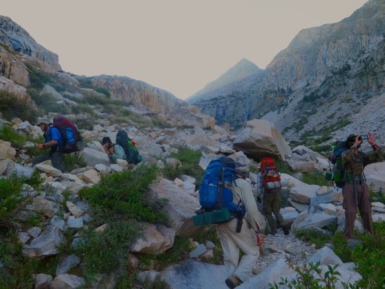A Day on a JMT Thru Hike Featured Image PC Tucker Ballister