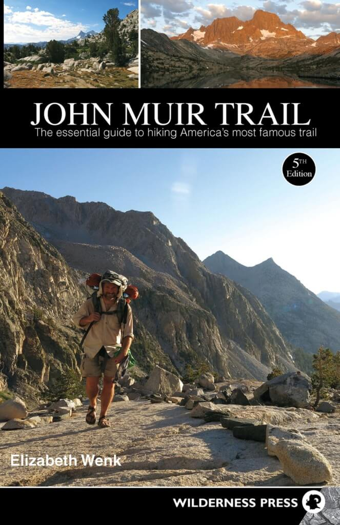 A Day on a JMT Thru Hike - maps and books