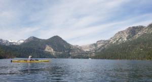 Kayaking Lake Tahoe - day three emerald bay to zephyr cove