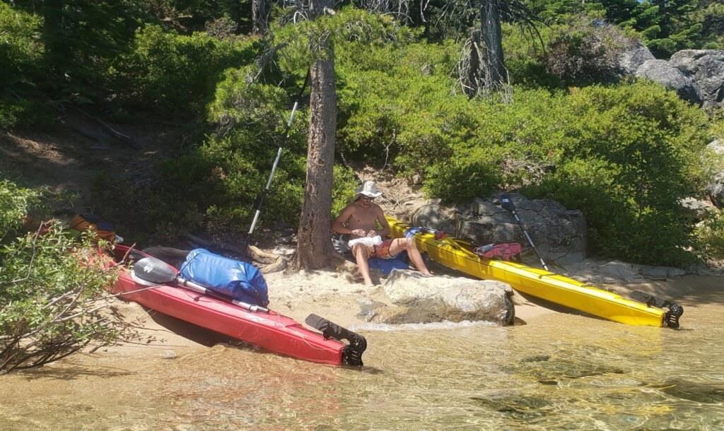 Kayaking Lake Tahoe - day two meeks bay to emerald bay