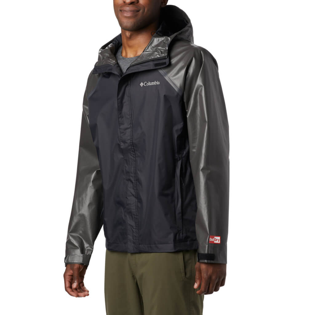 Kayaking Lake Tahoe - rain jacket