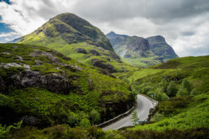 Best Day Hikes in Scotland - Three Sisters 2 PC Katey Hamill