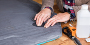 Best Sleeping Pads For Summer Camping - repair practices