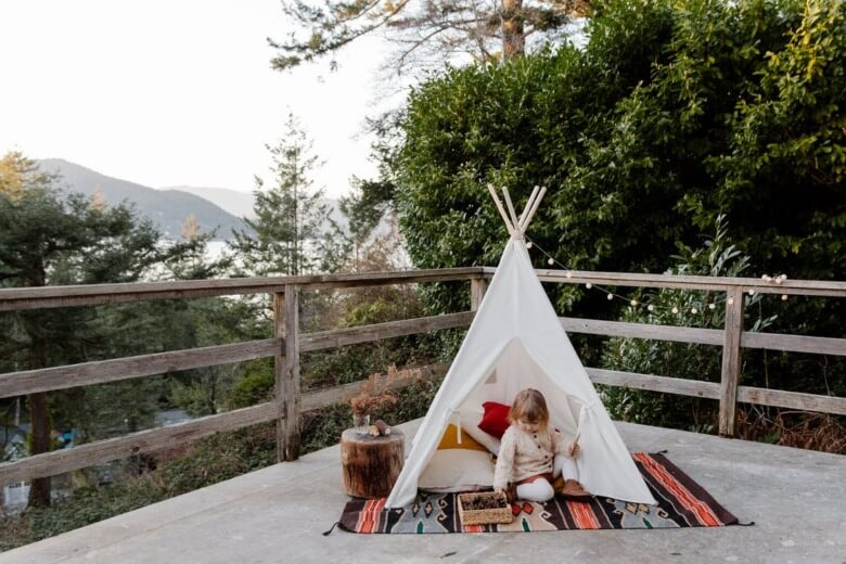 Backyard Camping Ideas For Kids Featured Image