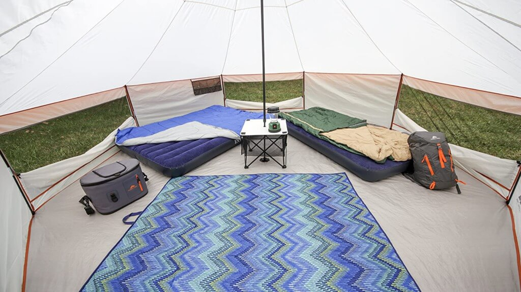 Backyard Camping Ideas For Kids - ozark trail tent 2