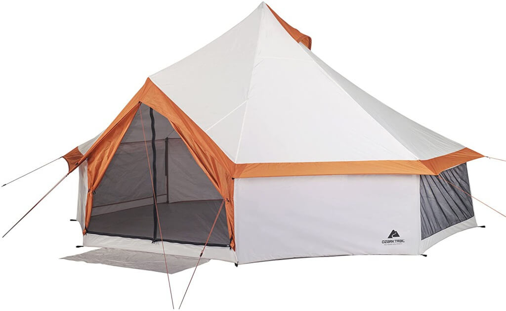 Backyard Camping Ideas For Kids - ozark trail yurt tent