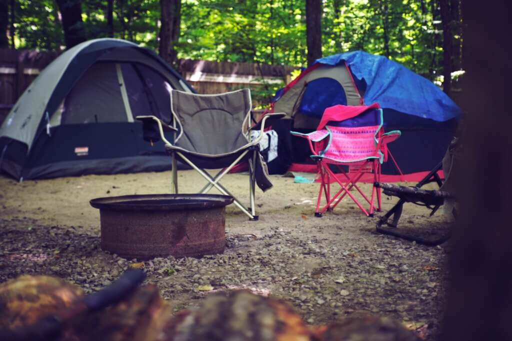Backyard Camping Ideas For Kids - set up your campsite Photo by Mac DeStroir from Pexels