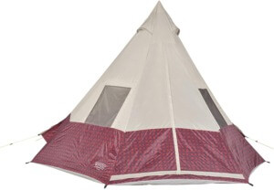 Backyard Camping Ideas For Kids - wenzel shenanigan teepee tent