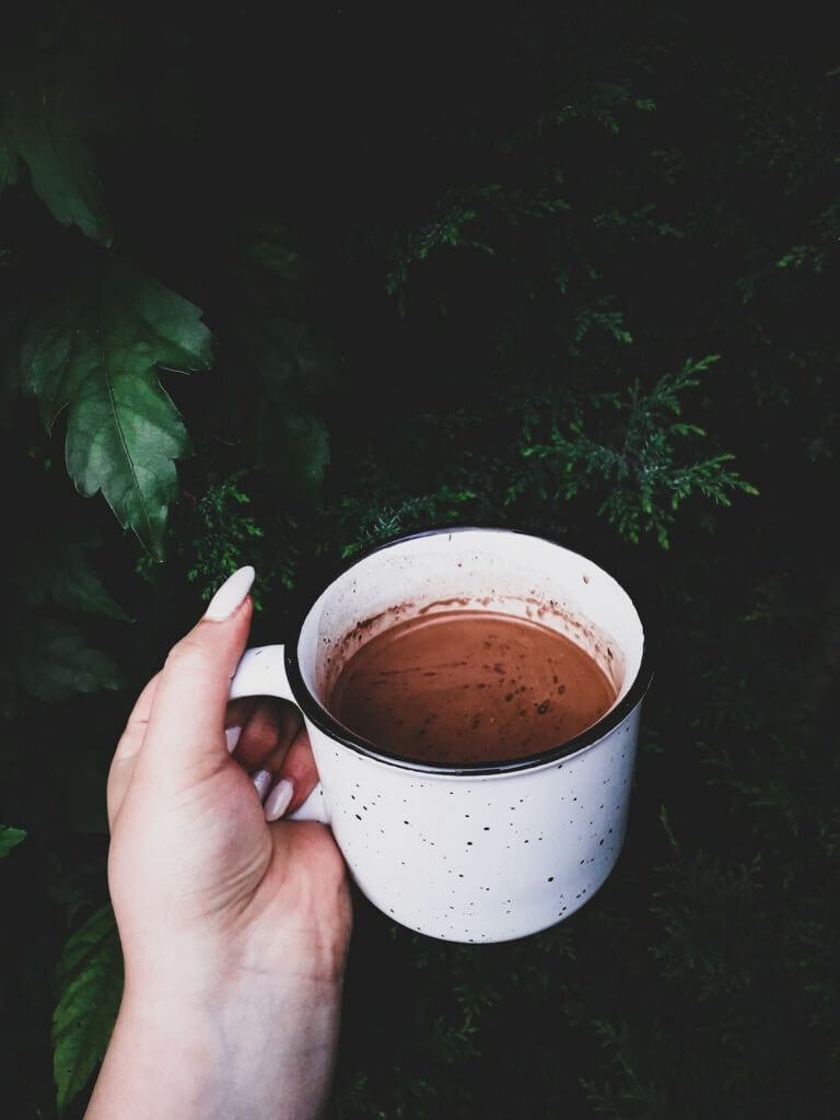 10 Easy Camping Cocktails - hot chocolate PC Lidia Adriana via Unsplash
