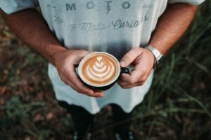10 Easy Camping Cocktails - mudwtr latte PC Hannah Tims via Unsplash