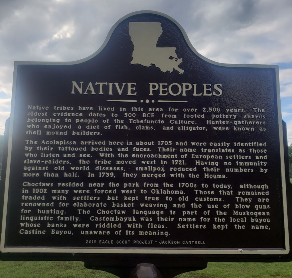 Native Peoples of Louisiana