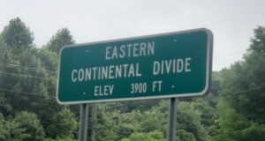 Eastern Continental Divide Adventures from Tennessee through North Carolina