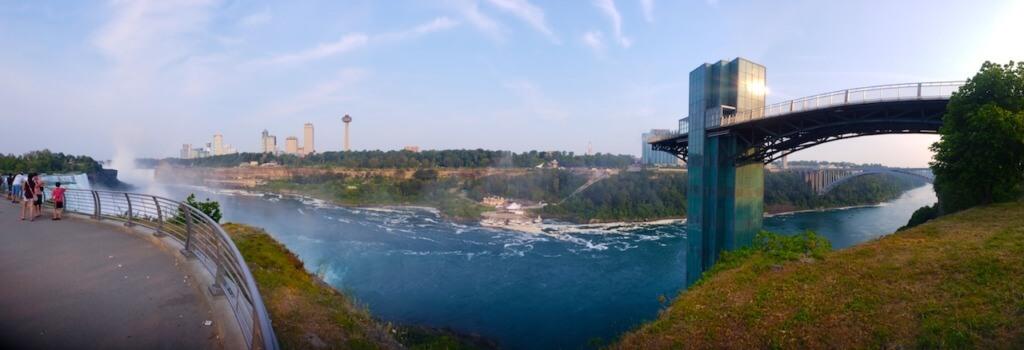 hiking upstate new york Niagara Falls Overlook
