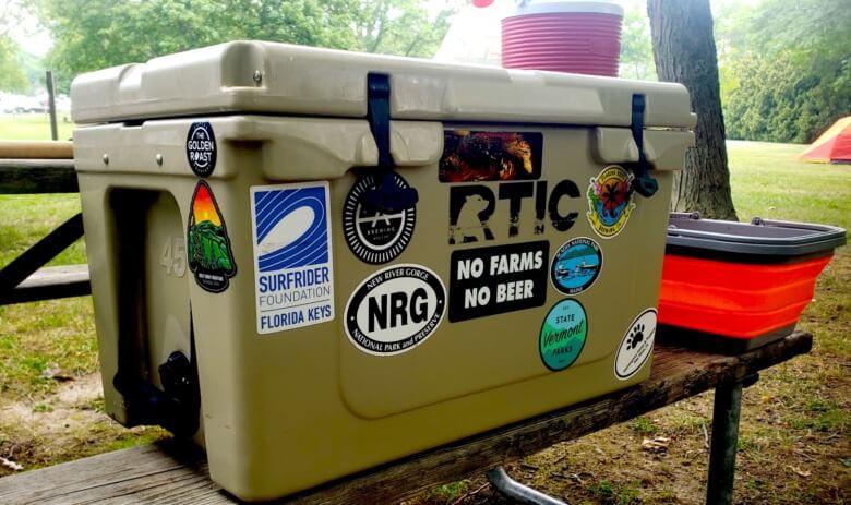 RTIC 45 quart hard cooler featured