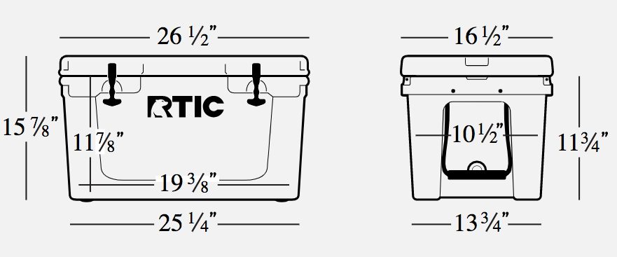 RTIC Cooler Sizing