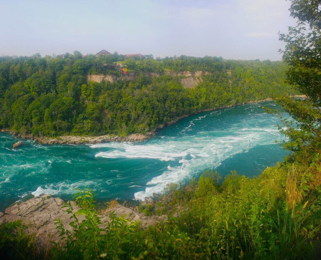 The Niagara River at Whirlpool State Park