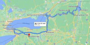 hiking upstate new york route 1
