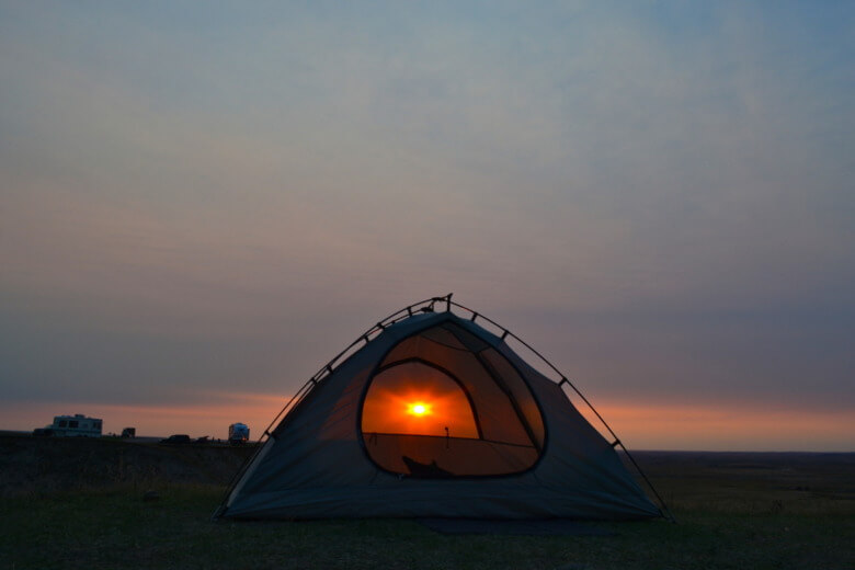 Exploring The North Country Badlands Sunrise
